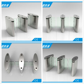 China Stainless Steel Access Control Turnstiles , Sliding Turnstile Security Systems supplier