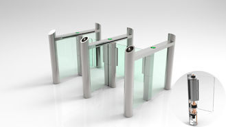 China BDS707-D Speed Swing Gate Turnstile 30W 550mm Lane Width For Airport Entrance supplier
