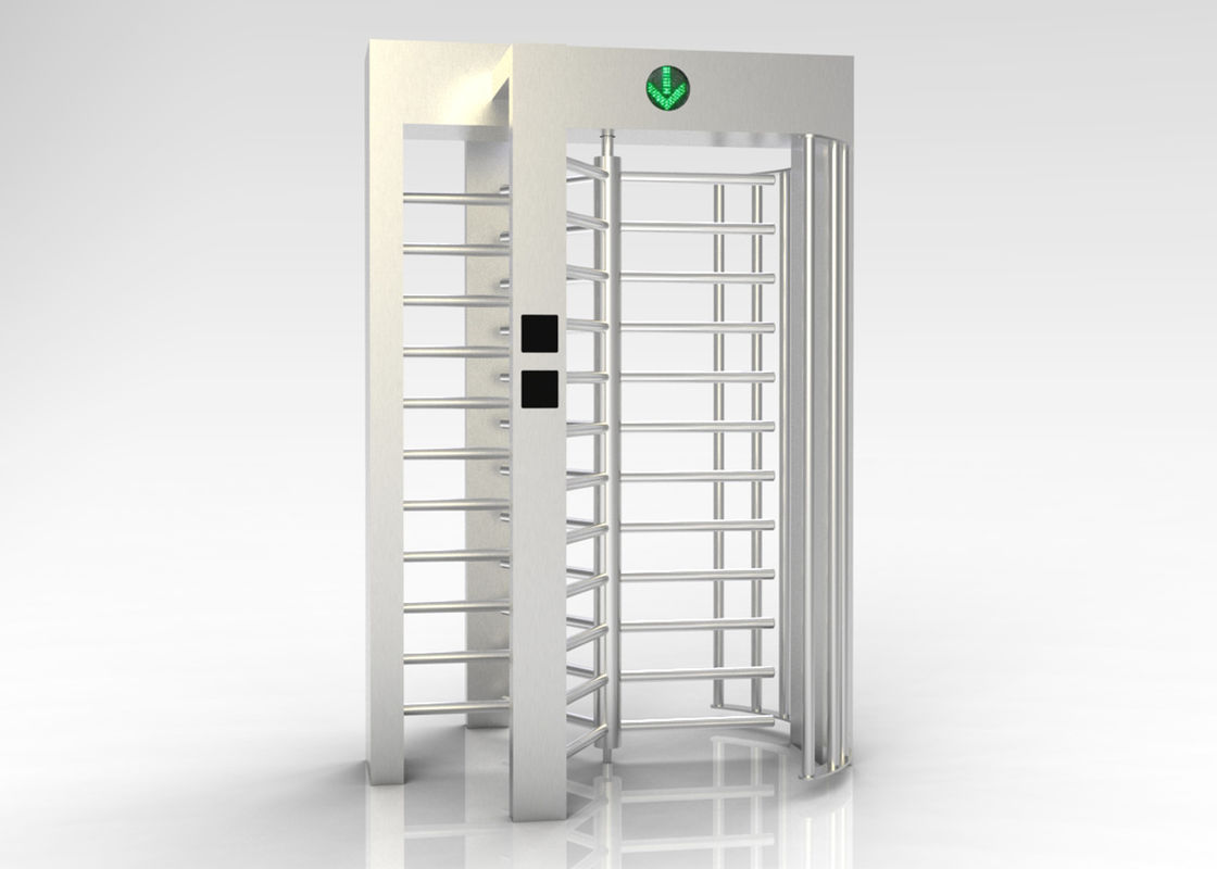 Heavy Duty Entrance Gate Security Systems , Optional DC12V Turnstile Entry Systems