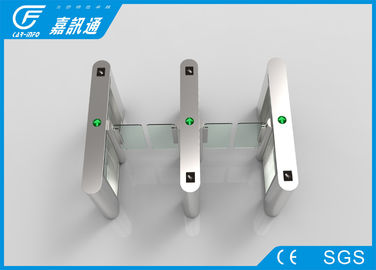 China Auto Pedestrian Turnstile Gate Boom Motor , Security Access Control Sswing Gate Turnstile factory