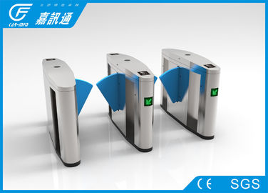 Facial Recoginition Flap Electronic Turnstile Gates Anti - Reverse Function1400 * 280 * 980mm