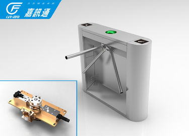 Fingerprint Office Turnstile Gate Systems , Smart Speed Tripod Security Gates