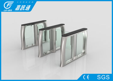 Automatic High Speed Stainless Steel Turnstiles Optical Swing Barrier Gate