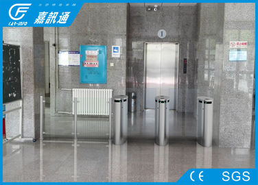 China Two Way Turnstile Barrier Gate , Indoor Smart Touch Flap Barrier Turnstile factory
