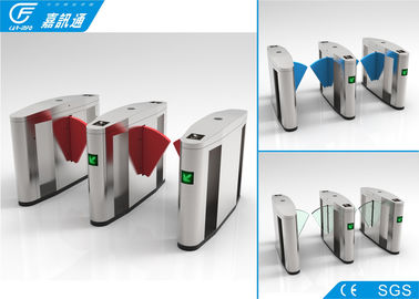 China Outdoor Turnstile Security Systems , Comercial Building Electronic Turnstile Gates factory