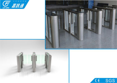 Pedestrian Entrance Swing Barrier Security Remote Control For Supermarket