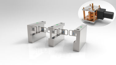 Pedestrian Access Control Turnstile Gate , Turnstile Security Systems 4 Pairs IR Sensor