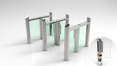BDS707-D Speed Swing Gate Turnstile 30W 550mm Lane Width For Airport Entrance