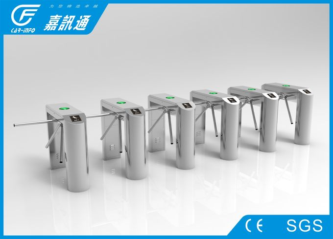 CF1200-HX bridge tripod turnstile , stainless steel , 1200*280*980mm , for bus station entrance