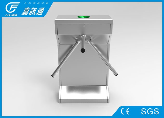 Stainless steel tripod turnstile CF238FLG with led direction light