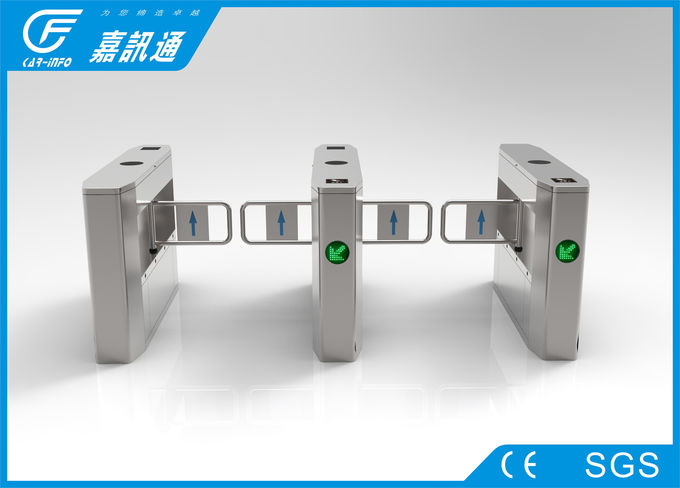 Pedestrian Barrier Gate With Alarm Function For Business Office Building